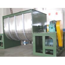 Máquina mezcladora de cinta horizontal de plástico