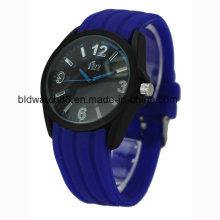 Рекламные Водонепроницаемый унисекс силиконовые наручные часы для продажи