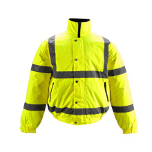 Winter Workwear Reflective Safety Jacket