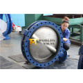 Dn750 U Section Flanged Butterfly Valve with Ce ISO Wras Approved (CBF01-TU01)