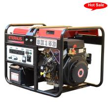 Fácil mover el generador diesel de la sola fase 10kVA (SH8Z)