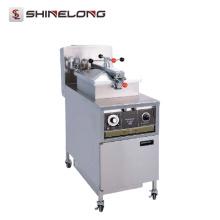 K531 Handels-Edelstahl-elektrischer Huhn-Druck Fritteuse-Großverkauf von SHINELONG
