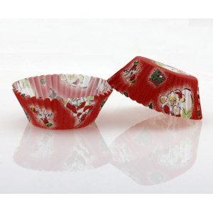 Christmas design baking cup Santa Claus