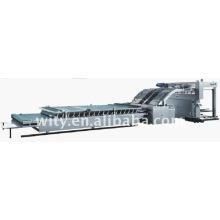 Máquina laminadora automática de cartón corrugado