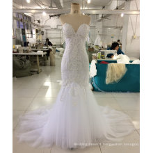 Aoliweiya High Quality Brand New Mermaid Wedding Dress