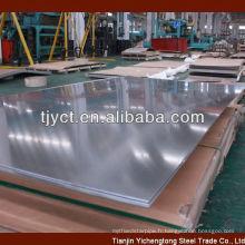 ss304 plaque d'acier inoxydable 1mm