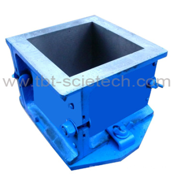 Four Parts 45 Degree Wall Concrete Cube Mould for Compression Test