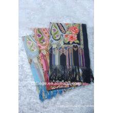 wool printed scarf shawl wrap
