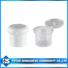 Shampoo Bottle Cap Mushroom Head Flip Top Cap with PP Material