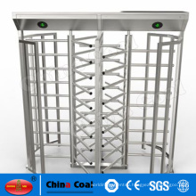 Automatic intelligent full height turnstile