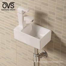 la mejor venta de producto caliente pared colgada lavabos de baño cuenca de cerámica