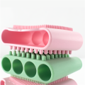 Silicone Dog Cat Pet Hair Cleaning Brush