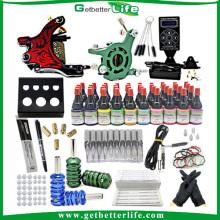 2014 kit de tatuaje con juego de tinta de regalo tatuaje eléctrico
