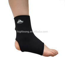 Подгонянный неопрен протягивал поддержку ноги лодыжки для спорта и медицинской с лентой