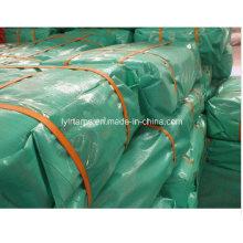 Green Cover Fabric Tarpaulin Sheet/PE Tarp Sheet