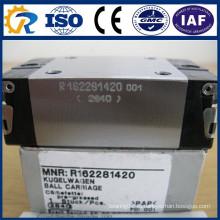 Блок Runner CNC частей Rexroth R162281420 Линейный блок направляющих Rails