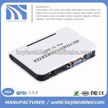 VGA zu HDMI Ethernet HD Video Converter mit Audio