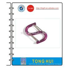 Promoção Multicolor S Shape Anodized Aluminum Carabiner