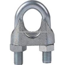 DIN 741 maleable galvanizado cuerda de alambre clip