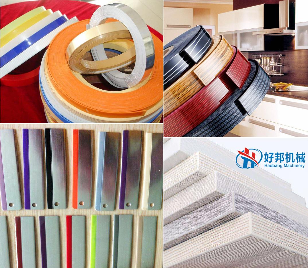 PVC edge banding sheet