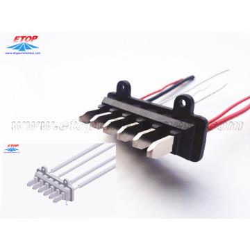Conector de moldagem para sistema de gerenciamento de bateria