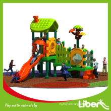 Second Hand Outdoor Tree House Playground with Colorful Rubber Particle Granule