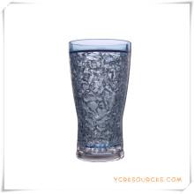 Tasse givrée à double paroi Tasse à bière glacée glacée pour cadeaux promotionnels (HA09083-1)