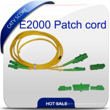 Fibre optique de haute qualité fabriquée en Chine E2000