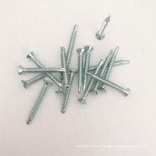 China factories Wholesale Flat hex drilling screw zinc Driller tall