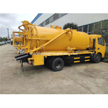Dongfeng 5000Liters Sewer suction tanker truck for sale