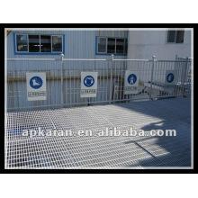 Anping caliente sumergido de acero galvanizado rejilla fabricante fabricante