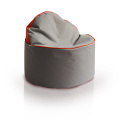 Round ottoman bean bag pouf two way use