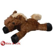 ¡Diseño modificado para requisitos particulares del OEM! Juguete suave mini caballo de peluche marrón
