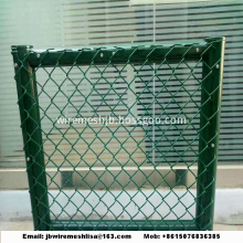 PVC Coated And Galvanized  Chain Link Fence