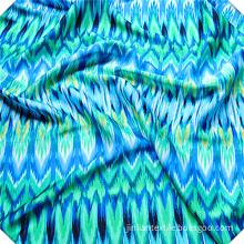 Printed Flowers Rayon Viscose Fabric