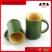taza de bambú de consumición promocional barata de la fibra
