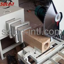 Sawdust recycling wood pallet feet making machine