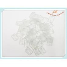 Chip de plástico para cabide de roupas