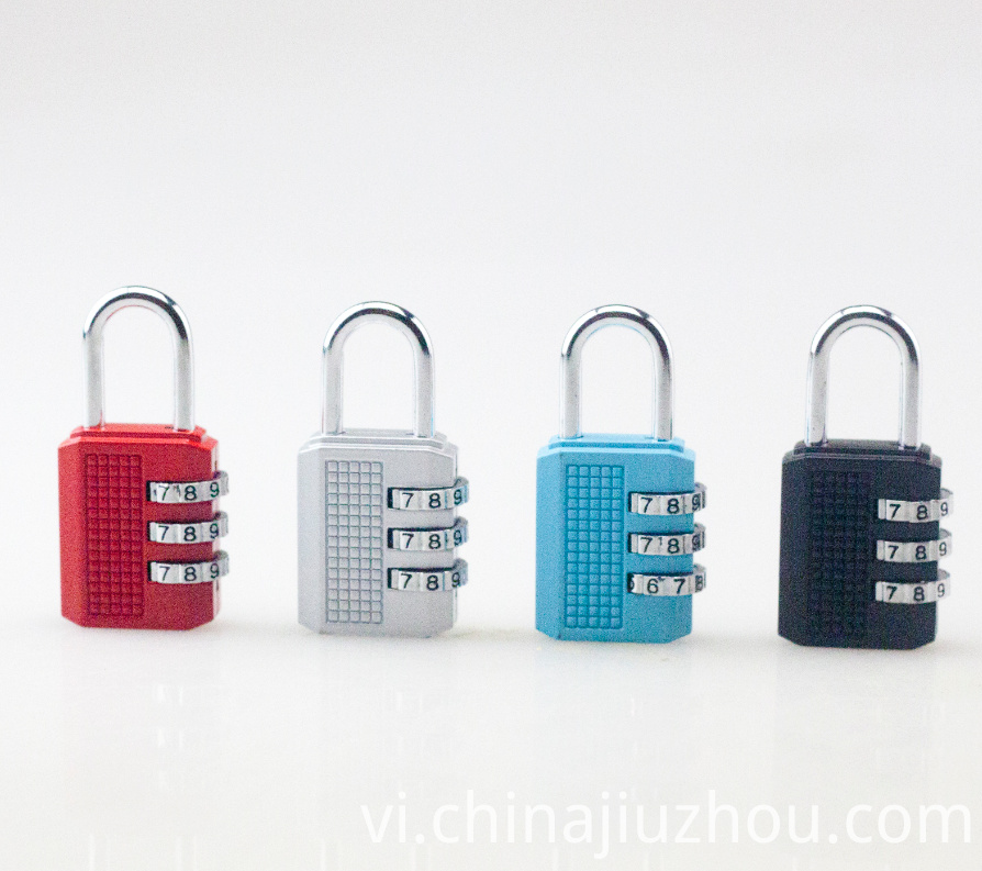 Metal Padlock 3 Digit