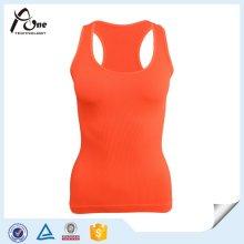 Пользовательские Vest дамы бесшовных Фитнес-топ