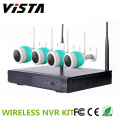 720p exterior CCTV 4ch Wireless Kit NVR câmera IP Yoosee