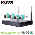 4CH Wifi Echtzeit-Wireless IP-Kamera 1,3 MP 4ch CCTV-Kit