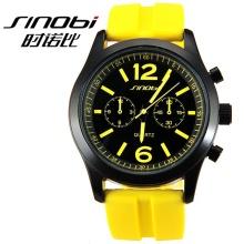 2015 man SHINOBI quartz watch fashion hot sell watch silicone rubber wrist watch