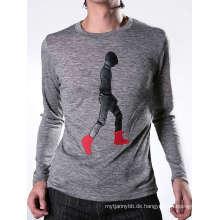 Patch Stickerei Mode Baumwolle benutzerdefinierte Großhandel Männer T-Shirt