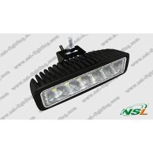 18W Mini ATV LED Work Light Bar, Offroad Lamp