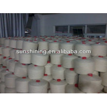100% 6NM/1 pure NZ wool yarn raw white for carpet