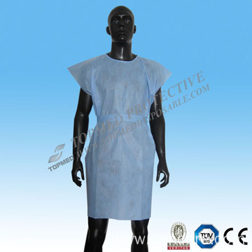2015 SMS Patient Gown (Round-Neck)