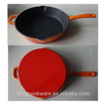 High Quality Enamel Cast Iron Skillet/fry Pan