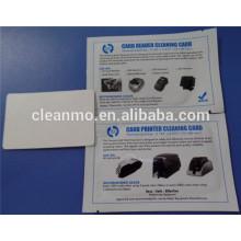 Чистка банкомат/ кард-ридер карты CR80 уборка материалов