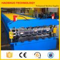Rolo de dupla camada formando máquina para telhados de metal e painéis de azulejo